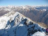 Via Normale Grigna Sett.le - Via Invernale - La cresta di discesa