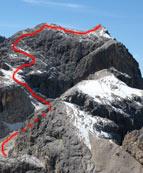 Via Normale Cima dei Bureloni - Vista dalla Cima di Campido