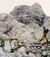 Via Normale Cima Tiziano - Salendo per la bellissima Val Longa