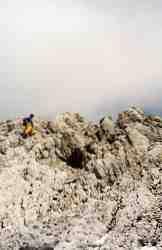 Via Normale Cima Tiziano - Verso la sommità di Cima Tiziano