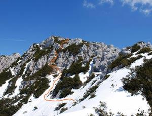 Via Normale Monte Crostis