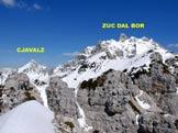 Via Normale Monte Crostis - Monte Cjavalz e Zuc dal Bor