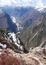 Via Normale Dosso Nadei - Cimolais e sulla destra Mone Lodina