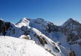 Via Normale Cima delle Vacche - Sulla cima, verso Monte Laste, Cavallo, Palantina