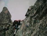 Via Normale Monte Aviolo - Cresta SE - Passaggio sulla cresta