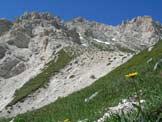 Via Normale Monte Prena - Sul sentiero verso la vetta