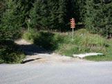 Via Normale Monte Ajarnola - Partenza poco dopo il Pso S. antonio, il sentiero � segnato ed evidente