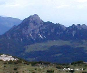 Via Normale Monte Cornetto