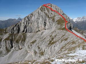 Via Normale Monte Ferrante