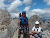 Via Normale Chiadenis - In cima al Chiadenis