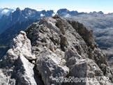 Via Normale Cima di Campido - Ometto di sassi in cima
