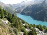 Via Normale Monte Zucchello - Vista sul lago d'Arno
