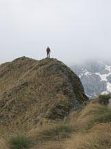 Via Normale Cimon della Stia - In cima