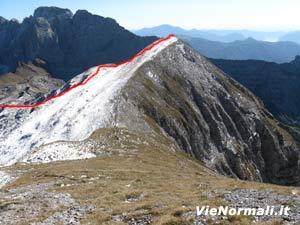 Via Normale Monte Ferrantino