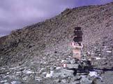 Via Normale Monte Robinet - Cartelli segnaletici sul Colle Robinet