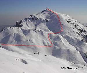 Via Normale Monte Gramolon