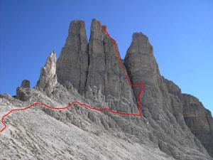 Via Normale Torre Stabeler