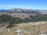 Via Normale Serra Rocca Chiarano - Dalla Serra Rocca Chiarano vista del Marsicano