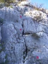 Via Normale Monte Maddalena - Via Marina - Passaggi di I-II grado