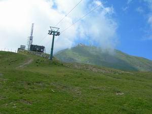 Via Normale Monte Cimone