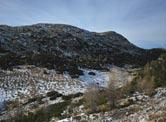 Via Normale Cima della Caldiera - Vista sull´Ortigara dal punto di osservazione del gen. Di Giorgio