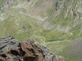 Via Normale Cima Casaiole - La valle dalla cima