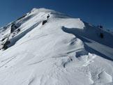 Via Normale Monte Pezzeda - Tratto di cresta