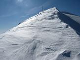 Via Normale Monte Pezzeda - Poco prima della cima