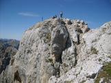Via Normale Cima Collac SE - Sulla cima