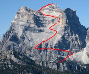 Via Normale Monte Pelmo