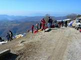 Via Normale Monte Rosato - Volo con il parapendio e deltaplano, appassionati che provengono da tutta Italia