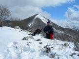 Via Normale Monte Polino - Da Monte Polino vista di Cima D'Arme
