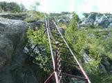 Via Normale Monte Procinto - La via ferrata del Procinto