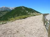 Via Normale Monte Blockhaus - Salendo sul Monte Blockhaus dal Rifugio Bruno Pomilio