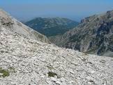 Via Normale Cima Pomilio - Dal 2° Portone uno sguardo verso la Majelletta
