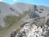 Via Normale Cima delle Murelle - Dalla Cima delle Murelle vista della cresta appena percorsa