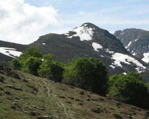 Via Normale Monte Baussetti