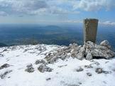 Via Normale Monte Pizzuto - Dalla cima vista della Sabina