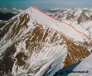 Via Normale Monte Gronlait