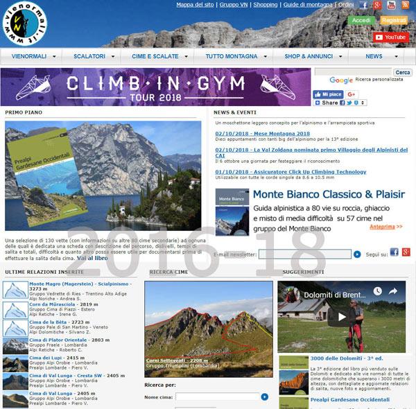 Il sito nel 2016-18