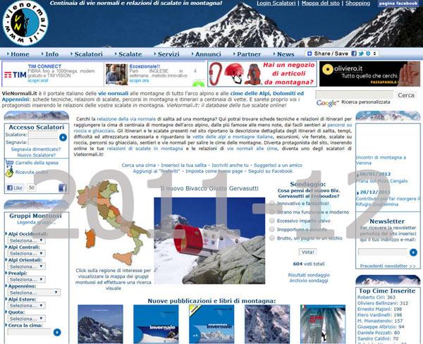 Il sito nel 2011-12