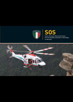 SOS Italian Helicopter Rescue Operations from Mediterranean Sea to Mont Blanc