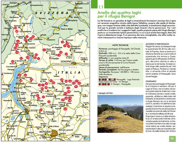 Cartina e escursione