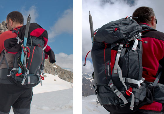 886c4bc6f4 VieNormali.it - Test di attrezzatura da montagna: Zaino Ferrino ...