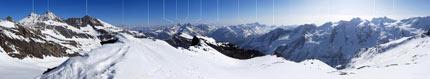 Panoramiche di montagna Gran Serra