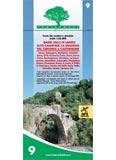 Libro montagna Carta n° 9 - Basse Valli di Lanzo - Alto Canavese - La Mandria - Val Ceronda e Casternone