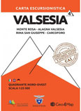 Libro montagna Valsesia Nord Ovest - n. 4
