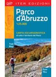 Libro montagna Carta escursionistica Parco d'Abruzzo