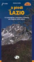 Libro montagna A piedi nel Lazio - Vol. 2
