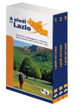 Libro montagna A piedi nel Lazio - Ed. speciale 3 vol.